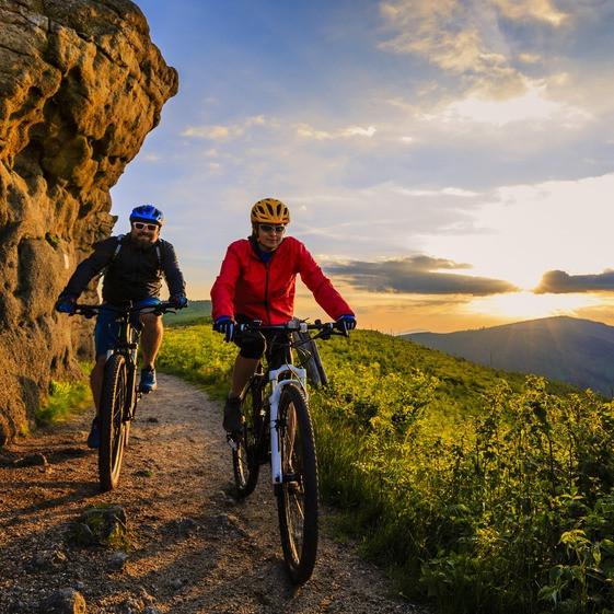 Mountainbike-Urlaub